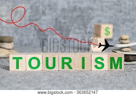 Undertourism - Word From Wooden Blocks With Letters, Tourism Marketing Tactic Less-frequented Destin