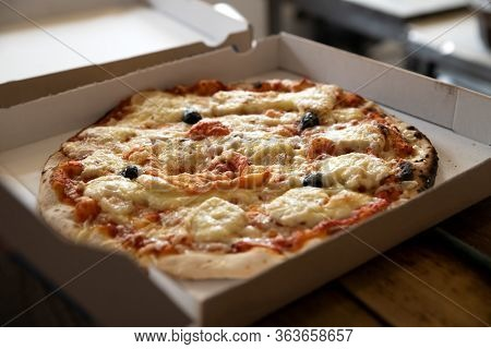 Hot And Tasted Pizza Food Ready To Eat