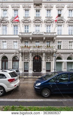 Vienna, Austrian - Jul 5, 2011: Headquarter Of The Kwizda Group Headquartered In Vienna And Comprise