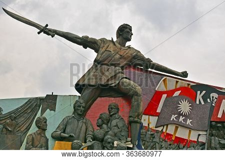 Manila, Ph - Oct 7 - Andres Bonifacio Shrine On October 7, 2017 In Manila, Philippines. The Shrine S