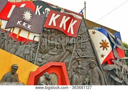 Manila, Ph - Oct 7 - Andres Bonifacio Shrine On October 7, 2017 In Manila, Philippines. The Shrine S