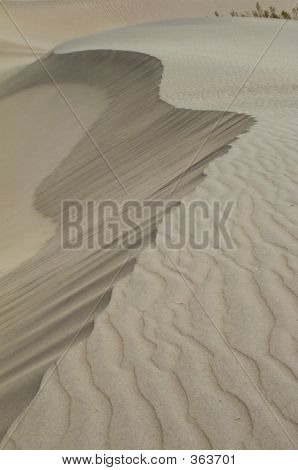 Sand Dunes Of Death Valley