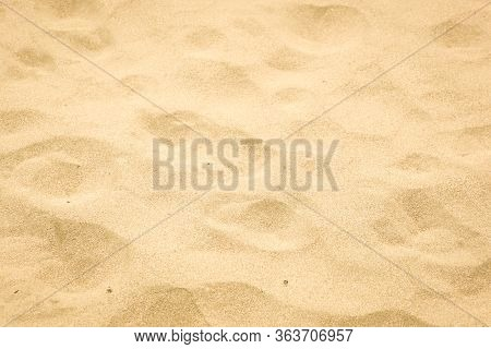 Close-up Of Sand Background Texture Stock Image