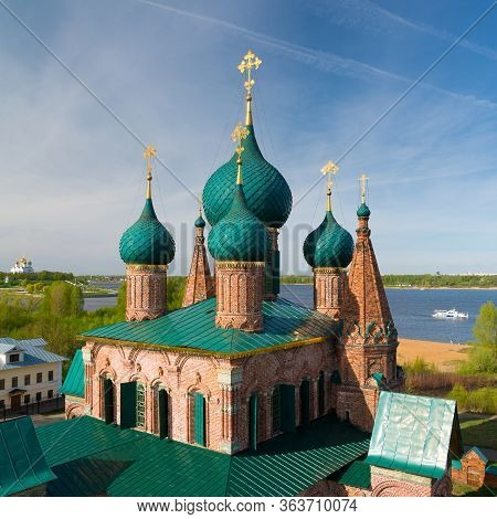 Church Of St. John Chrysostom In Yaroslavl. Golden Ring, Russia.