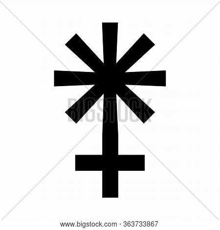 Juno Sign Icon Illustration On White Background