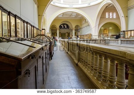 Museum Of Egyptian Antiquities (egyptian Museum) Which Houses The World's Largest Collection Of Anci