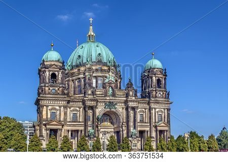 Berlin Cathedral (berliner Dom) Is The Common Name For The Evangelical Supreme Parish And Collegiate