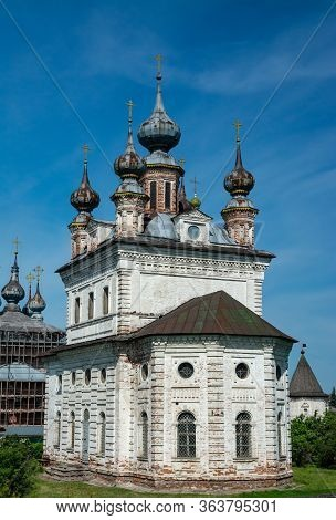 Golden Ring Of Russia. In The Territory Of Archangel Michael Monastery In Yuryev-polsky