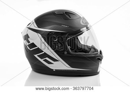 Hjc Fg-st Crono Mc-5sf Motorcycle Full Face Helmet. Made Of An Advanced Fiberglass Composite. Pictur