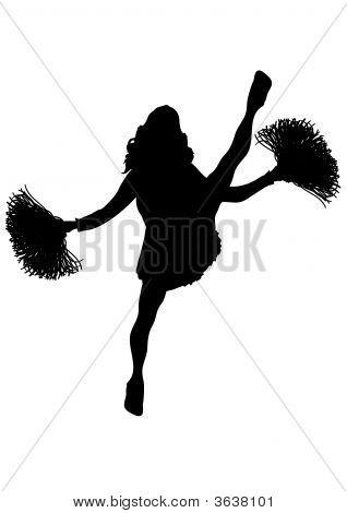 Cheerleader White