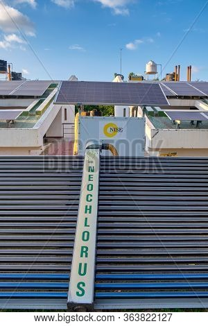 Solar Panels At National Institute Of Solar Energy, India