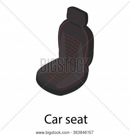 Car Seat Icon. Isometric Of Car Seat Vector Icon For Web Design Isolated On White Background