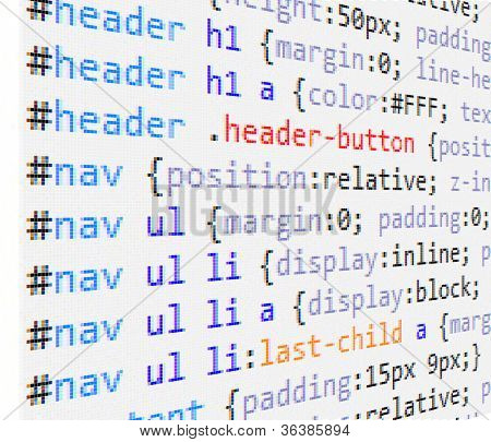 CSS  code background