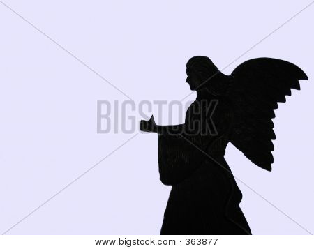Angel Silhouette/thumbs Up