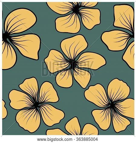 Cherry Blossom. Sakura, Great Design For Any Purposes. Japanese Pattern Vector. Japanese, Chinese El