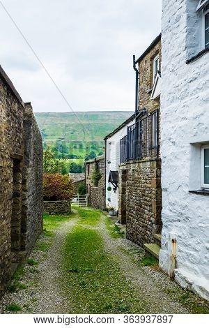 Dent Village In The Yorkshire Dales Uk
