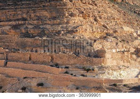 The Old Berber Village Of Chenini, In Southern Tunisia