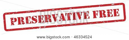 Preservative Free Rubber Stamp