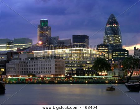 London City By Night