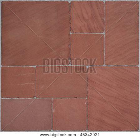 decorative red stones