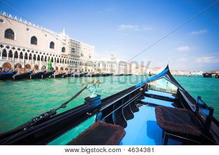 Gondola Nose On Water