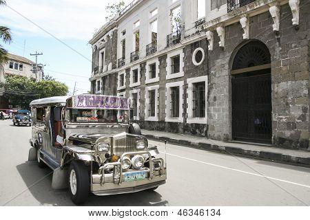 Intramuros Jeepney Manila