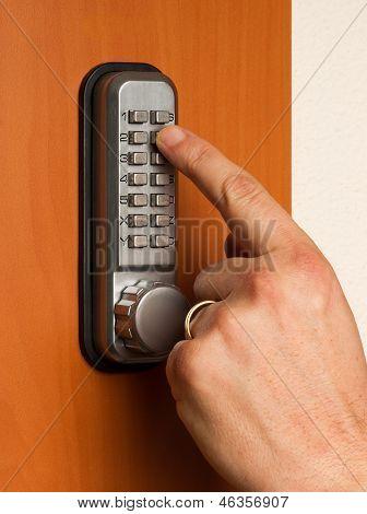 Doorlock With A Key Code