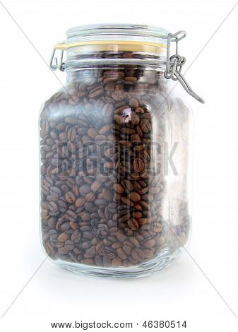 Coffee Bean Jar