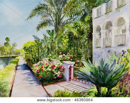 Canal Rose Garden