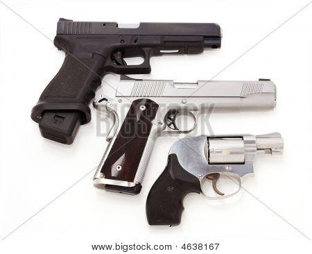 Three Pistols, Isolated