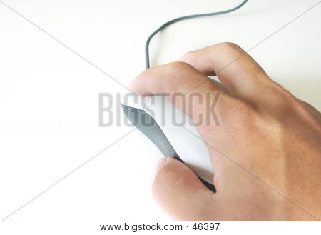 Hand Moving Mouse