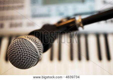 Microfone grande
