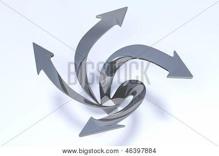 3D Arrows - Imagination