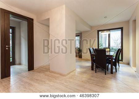Travertine House: Dining Room