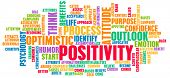 Positivity and Positive Attitude for a Life poster