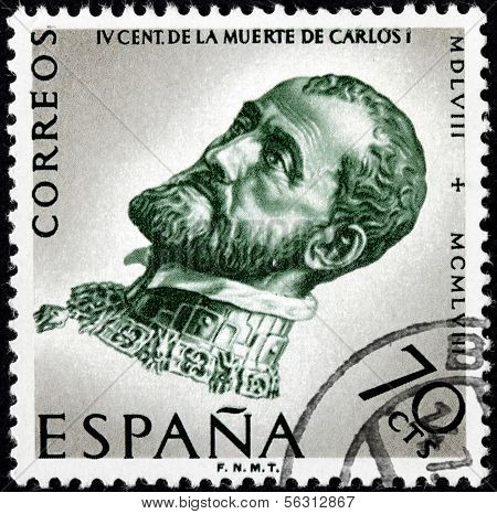 Charles V Stamp