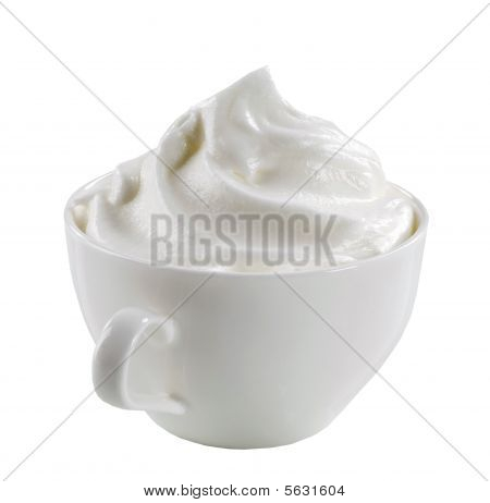 Whipped Cream In A Cup