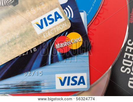 Credit Cards And Cd Compact Discs