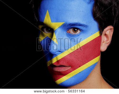 Flag Of Democratic Republic Of Congo