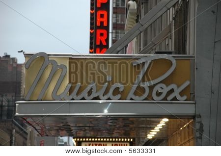 The Music Box Theatre Marquee