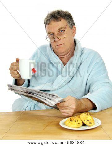 Grumpy Middle Aged Man
