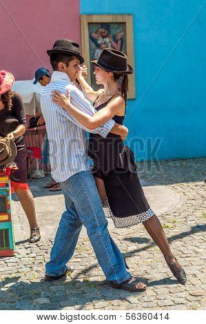 Tango In The Streets La Boca