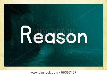 Reason Concept