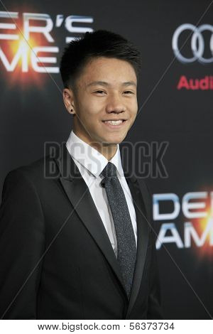 LOS ANGELES - OCT 28:  Brandon Soo Hoo at the