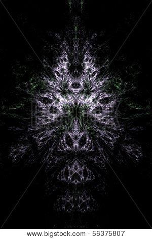 Abstract symmetrical theme