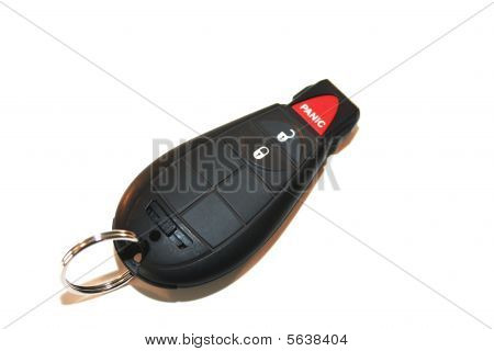 Ignition key remote door