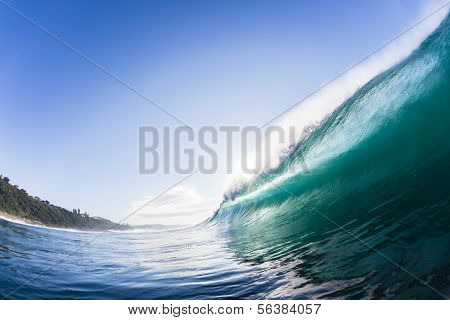 Wave Water Crashing
