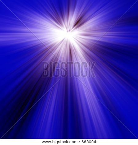 Blue Light Rays