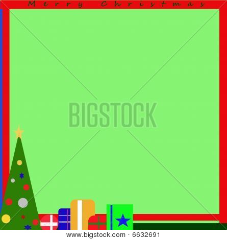 Merry Christmas card stationary