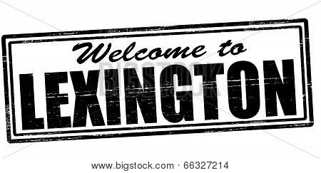 Welcome To Lexington
